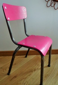 chaise enfant vintage lili-rose 1