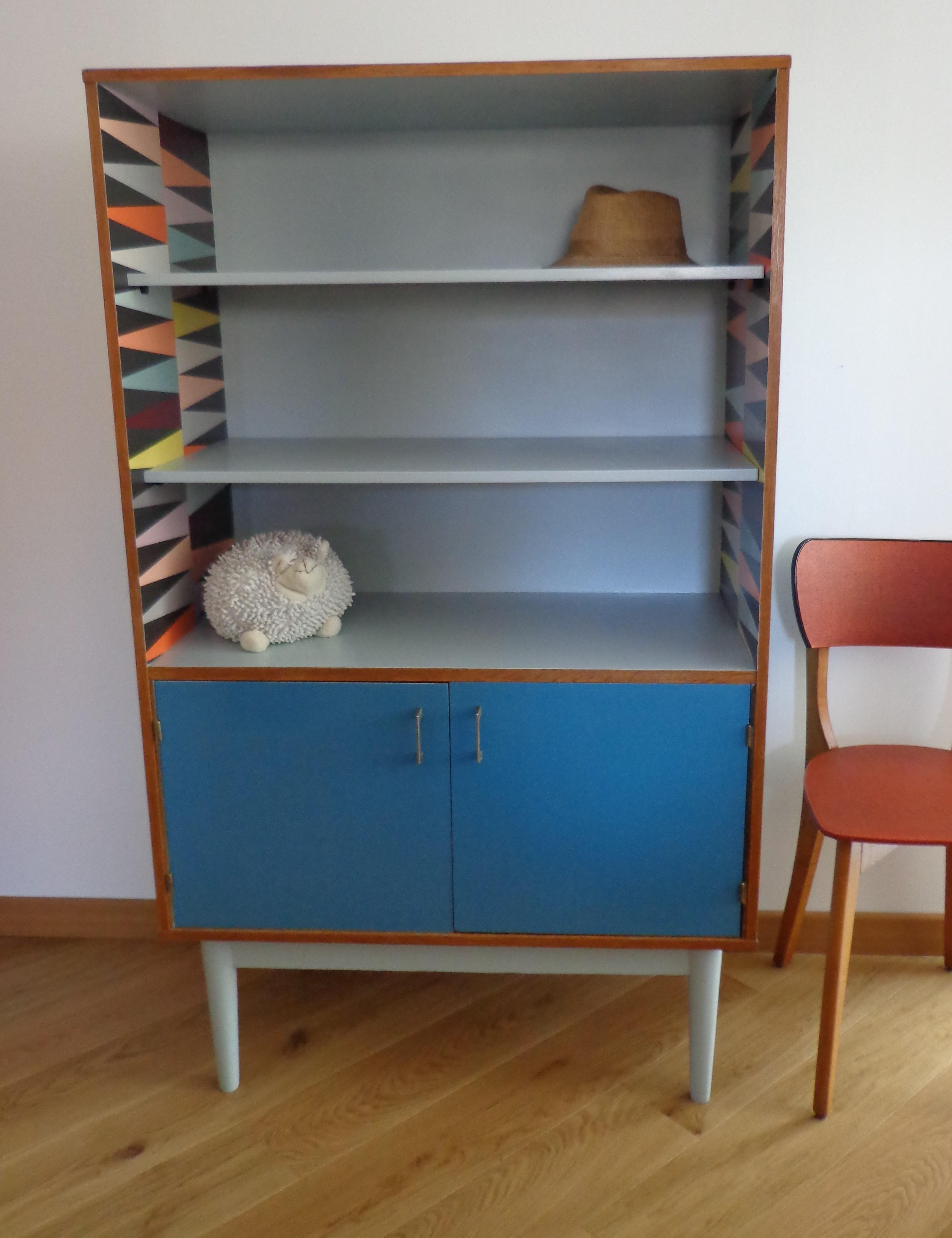 Armoire vintage design scandinave «Basile »