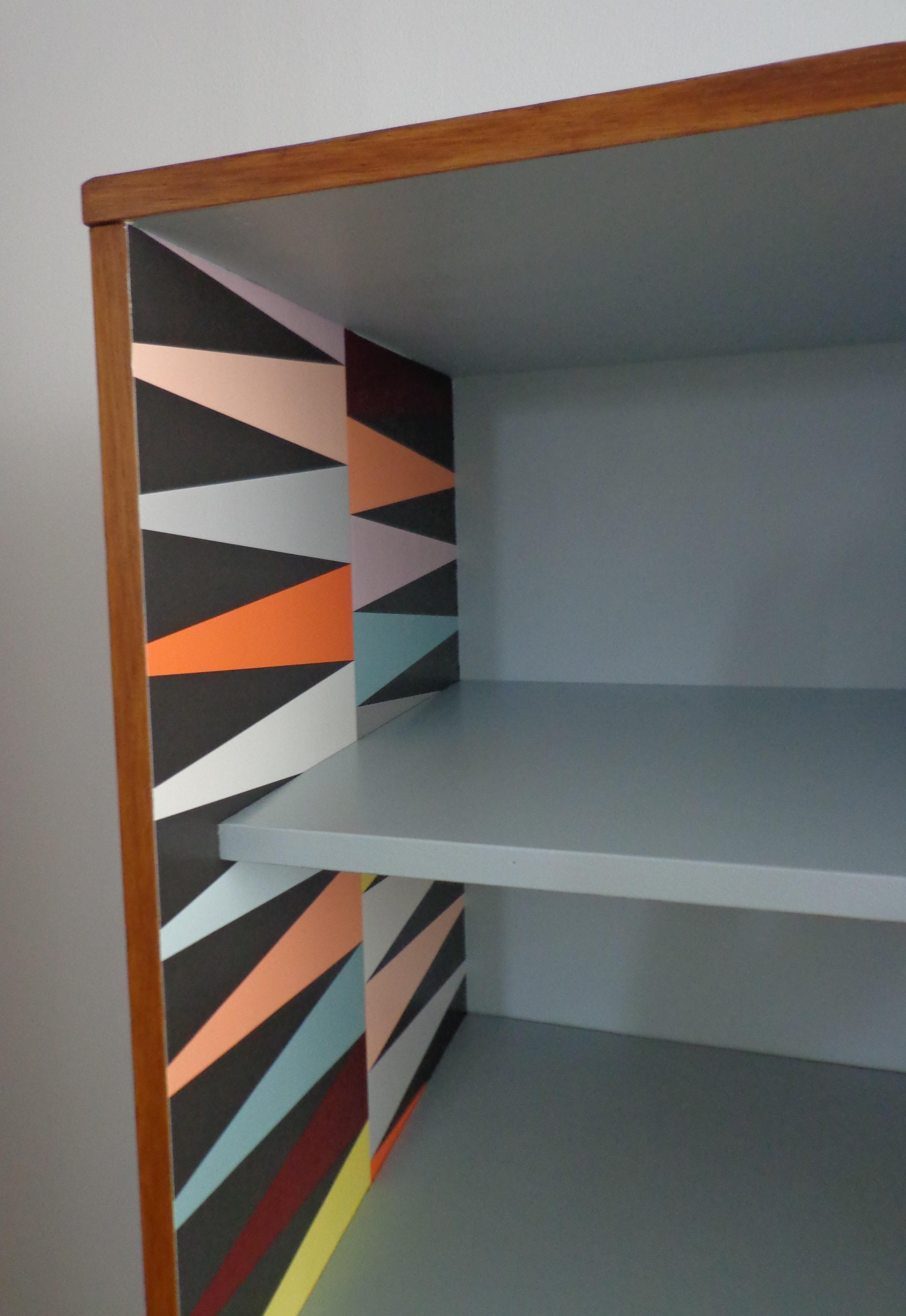 armoire scandinave bleue. Black Bedroom Furniture Sets. Home Design Ideas
