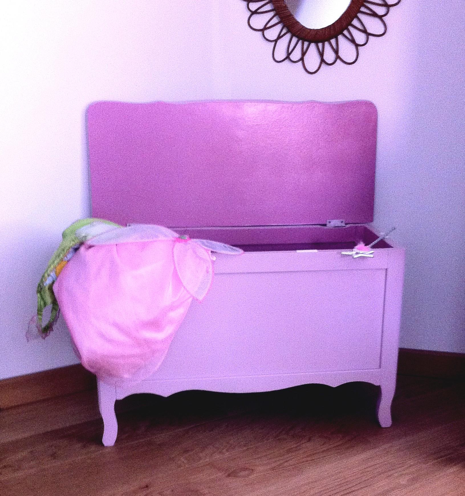 Coffre jouet rose - Coffre a jouet rose ...