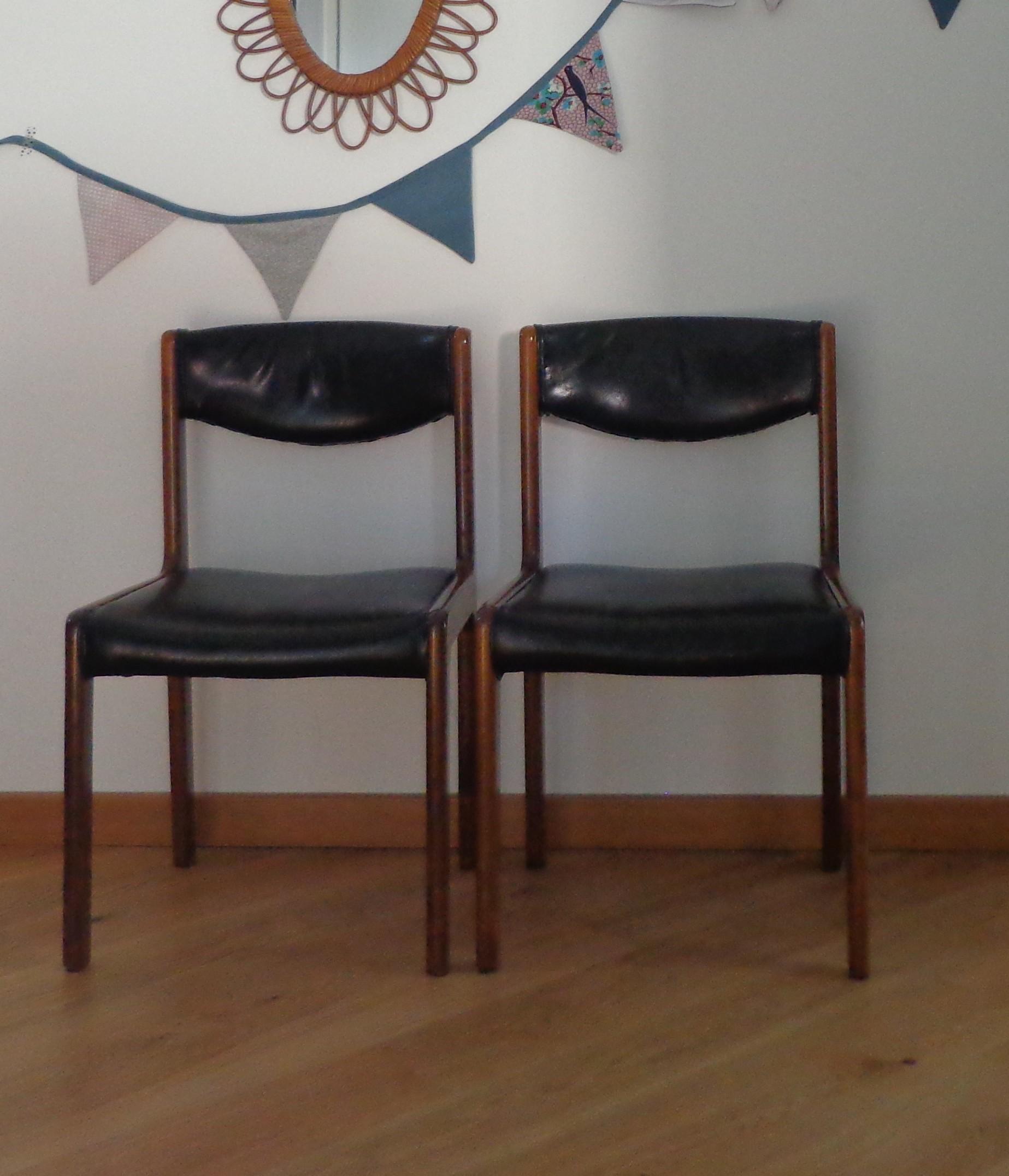chaises vintages josephine 1