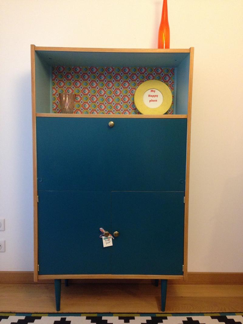Nice petit meuble bas salon 5 porte ferm - Petit meuble bas salon ...