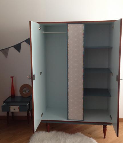 armoire vintage Iris 2