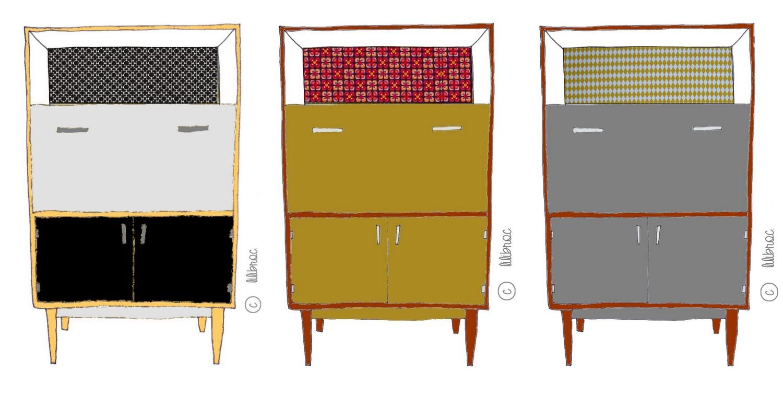 Les meubles vintages personnalisés!