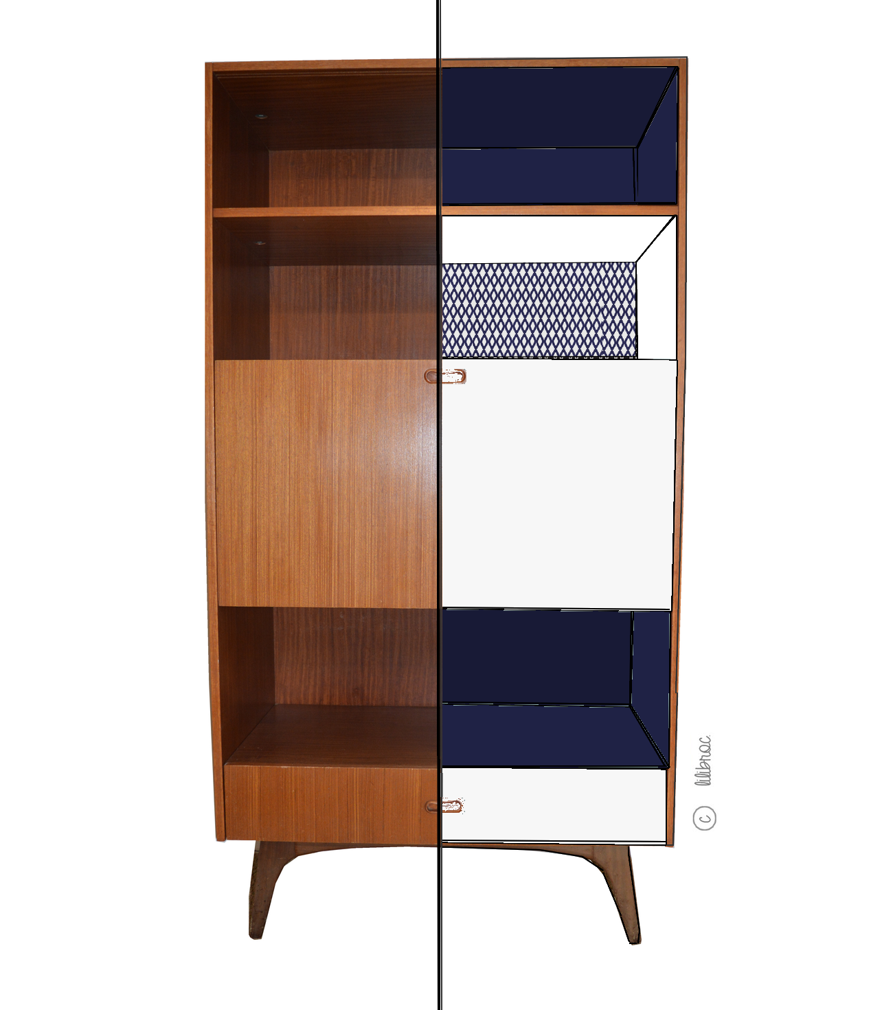 meuble secretaire bibliotheque conceptions de maison. Black Bedroom Furniture Sets. Home Design Ideas
