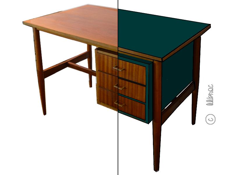 meubles vintage personnalis s relooking de meubles lilibroc. Black Bedroom Furniture Sets. Home Design Ideas
