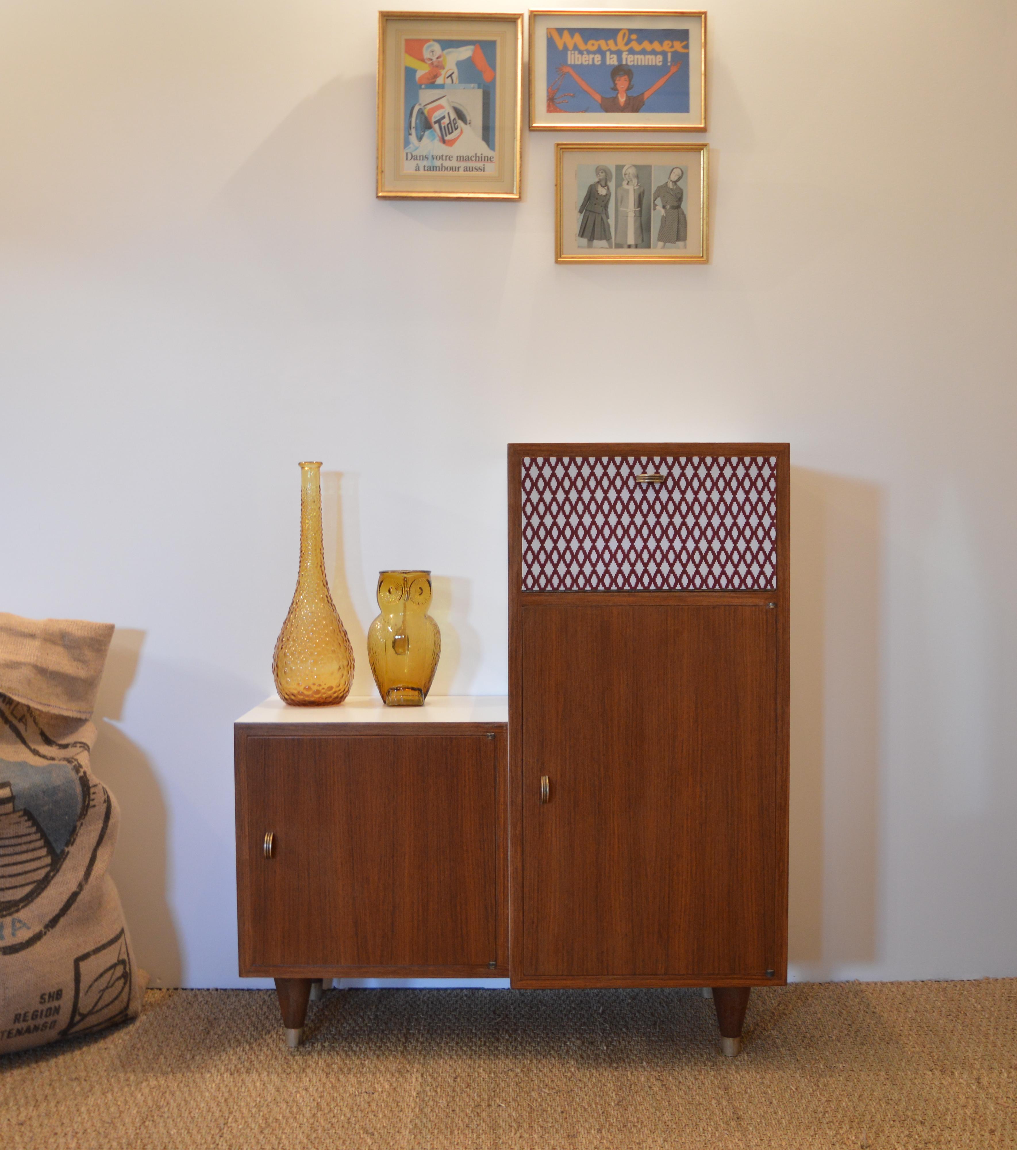 Petit meuble vintage «Sidonie»