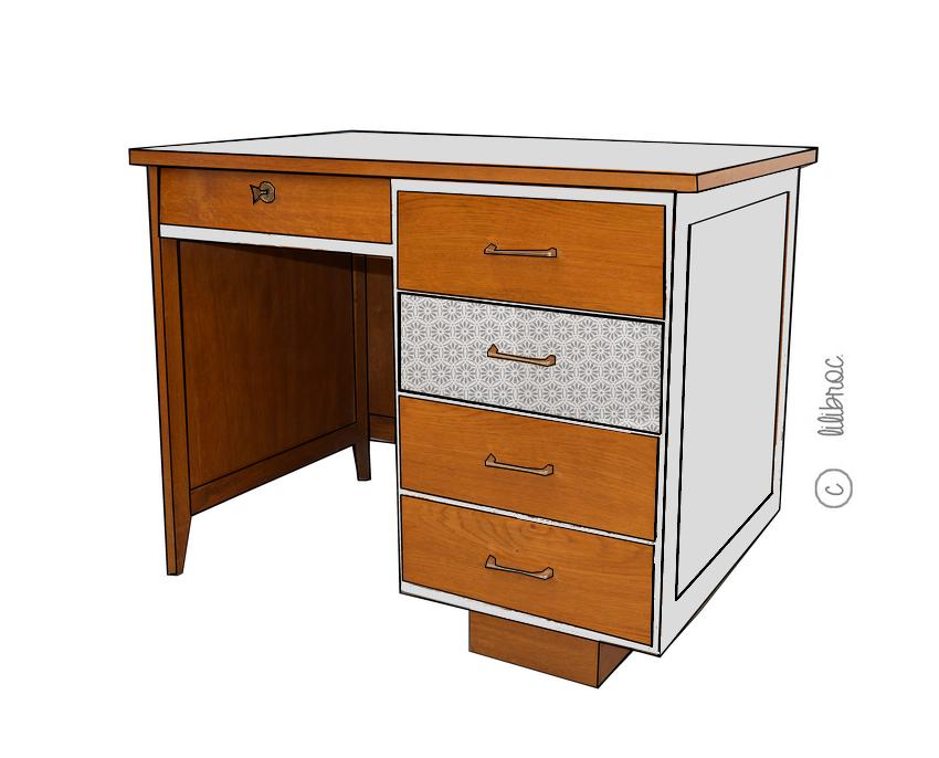 Meubles vintage personnalis s relooking de meubles for Annabelle meuble
