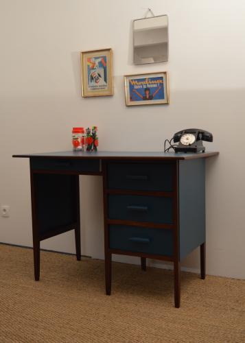 Bureau vintage Anémone 8