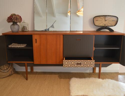 Enfilade vintage fanny meubles vintage nantes par lilibroc - Meuble vintage nantes ...
