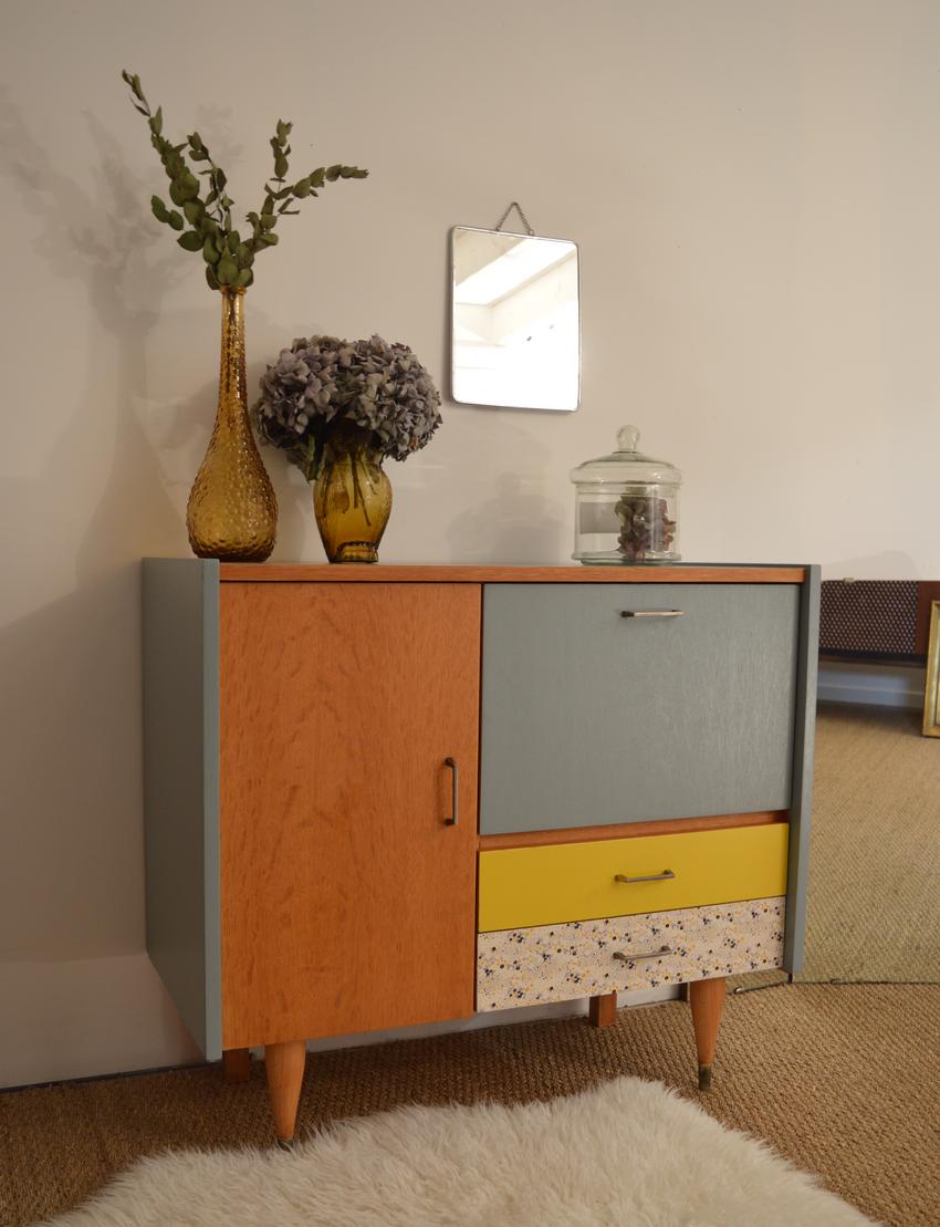 commode vintage arth mise meubles vintage nantes lilibroc. Black Bedroom Furniture Sets. Home Design Ideas