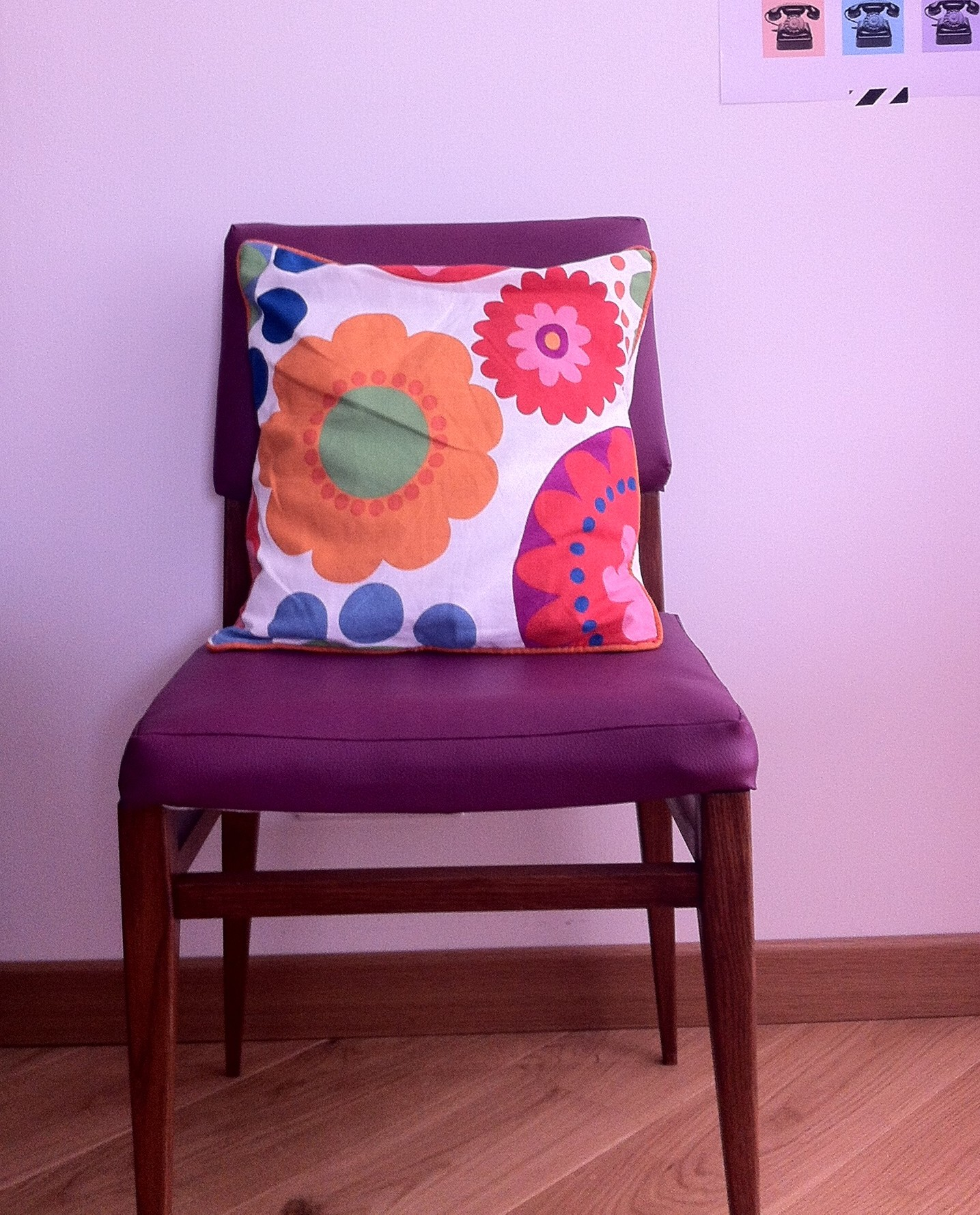 Chaise design scandinave « Prune »
