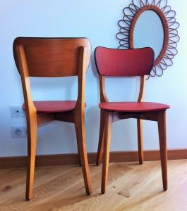 paire de chaises vintages Marcelle 2