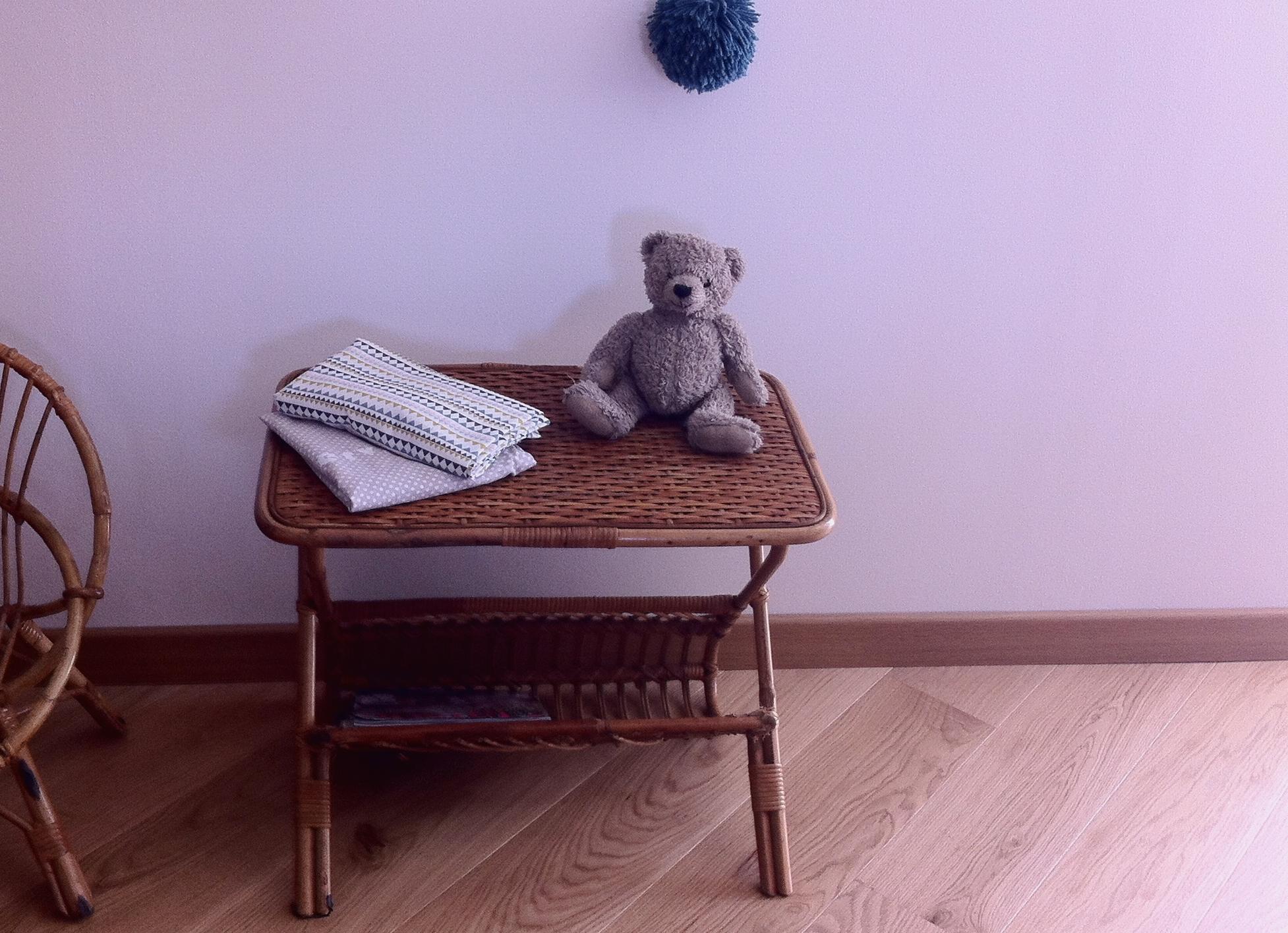 Table en rotin «Mael»