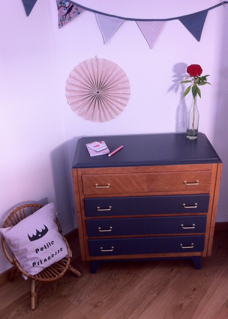 commode vintage eglantine 2