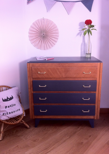 Commode vintage « Eglantine »