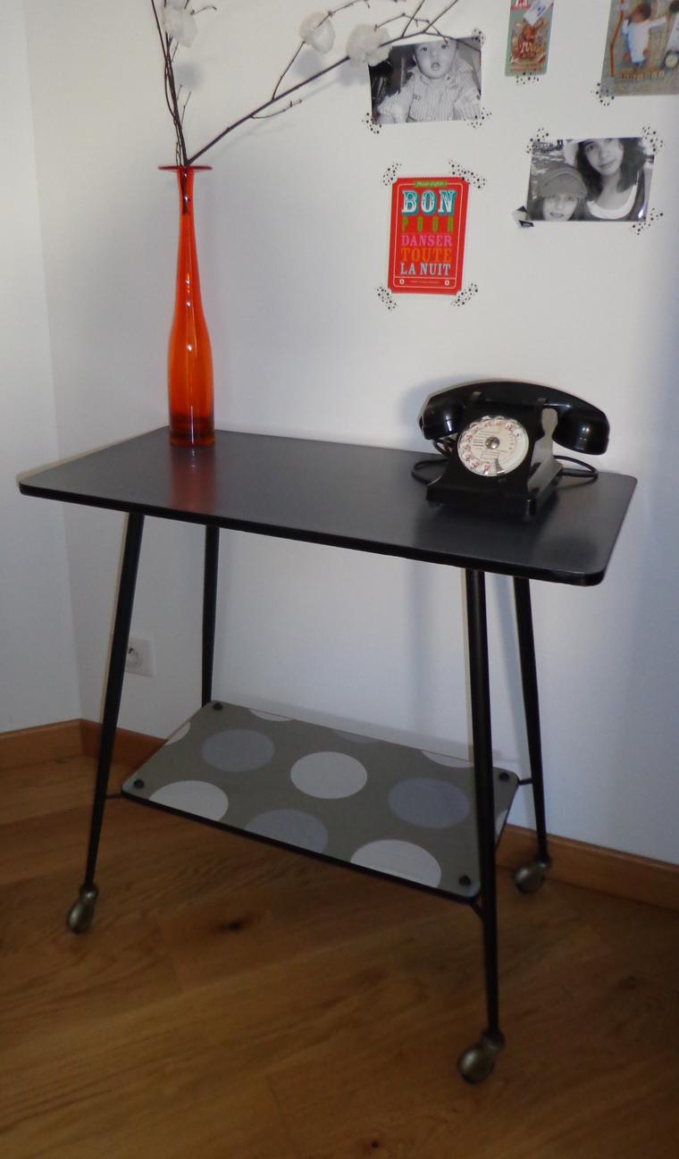 console vintage louisette 1