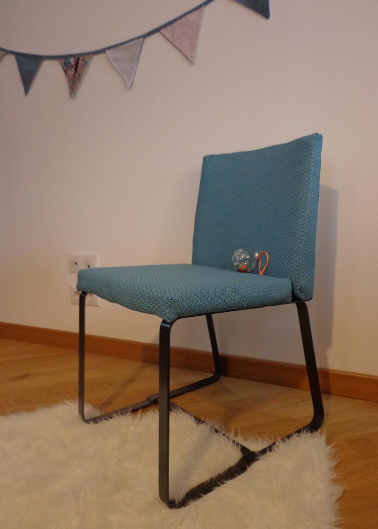chaise vintage gaspard