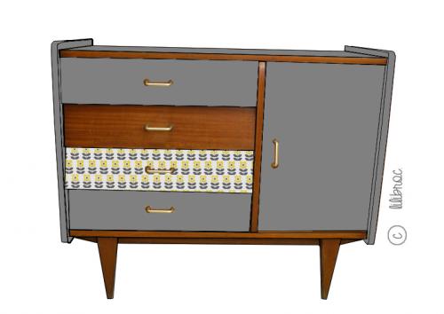 Buffet vintage octave croquis 3