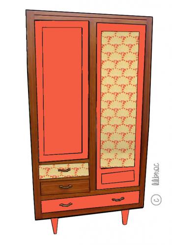 Armoire vintage Charlotte 4