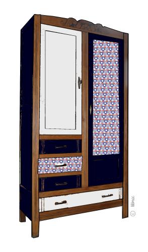 armoire vintage Maëlle 8