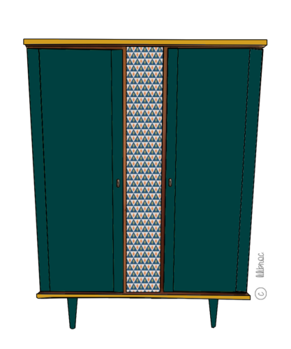 armoire vintage janelle croquis 3