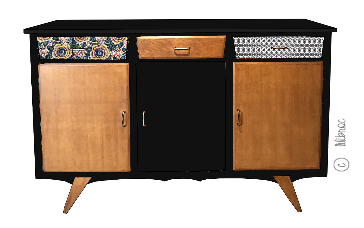 Buffet vintage Raoul