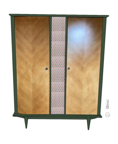 Armoire vintage Zilda - Croquis 1