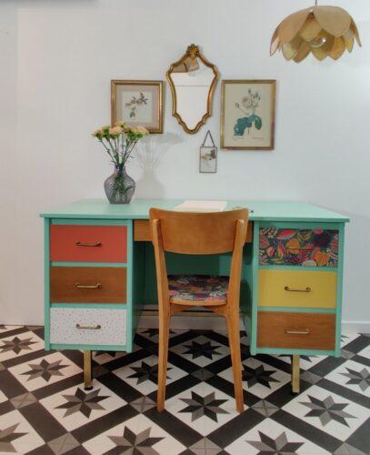 Bureau vintage Coline 12