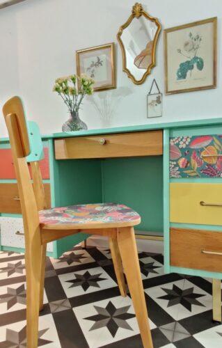 Bureau vintage Coline 3