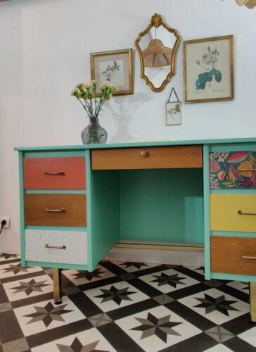 Bureau vintage Coline 5