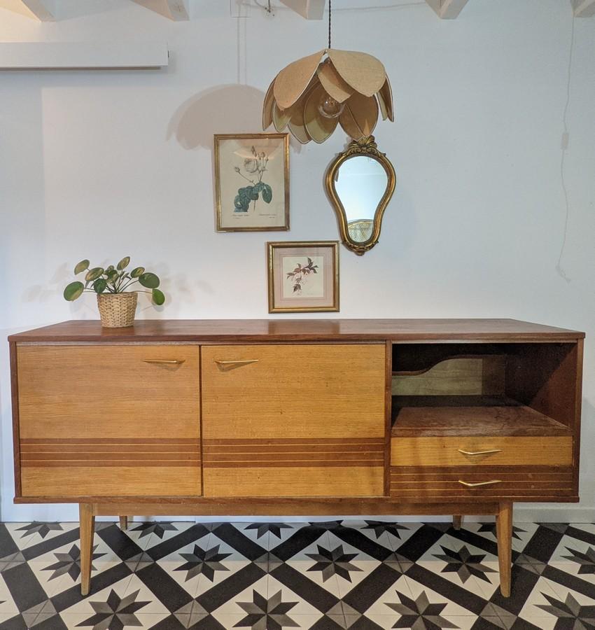 Enfilade vintage Myrtille – personnalisable